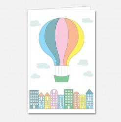 Stort kort Byballong