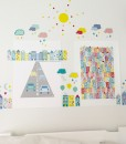 Bybil Jubelby wall stickers