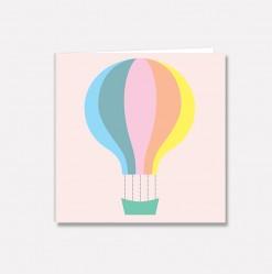 Lite kort Fargeballong