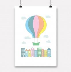 plakat byballong