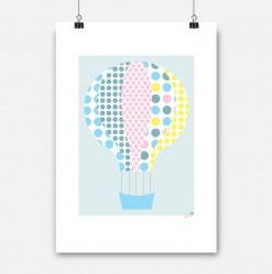plakat mønsterballong