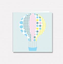 Lite kort Mønsterballong