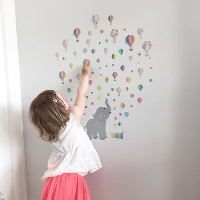 Wall stickers rosa jubelfant jubelshop