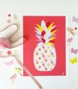 Rød-Ananas