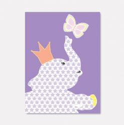 bursdagsfant-lilla-sommerfugl