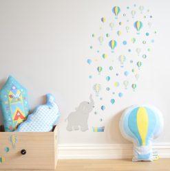 jubel-jubelshop-jubelshop-no-oppbevaring-kasse-skuff-elefant-rakett-barnerom-barn-luftballong-dekor