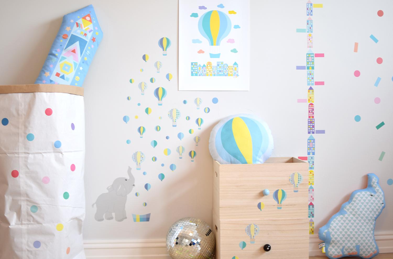 Wallstickers til barnerom jubel jubelshop.no veggklistremerker