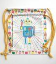 Bag-jubel-jubelshop-robot-iskrem-gymbag-bagnett-sekk-barnesekk