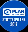 Plan Støttespiller logo 2017